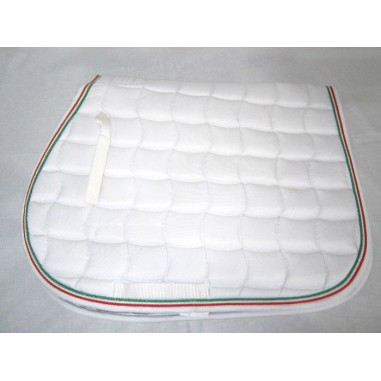 SADDLE PAD COTTON CORD TRICOLOR PRO-LIGHT