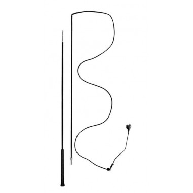 Whip rod in the nylon, removable 180 cm black