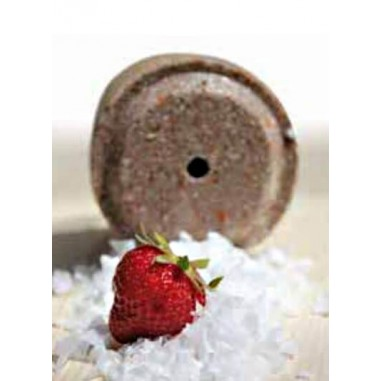 Roller salts Officinalis, carob and strawberries