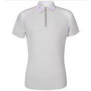 Jersey Zip Polo w/ Perforated Cavalleria Toscana