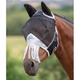 Maschera anti insetto fine mesh con frange