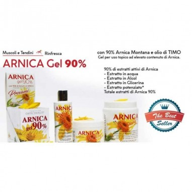 Arnica gel 90 % Officinalis 500 ml