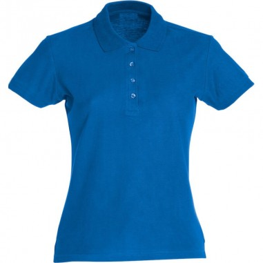 Polo team in cotone donna