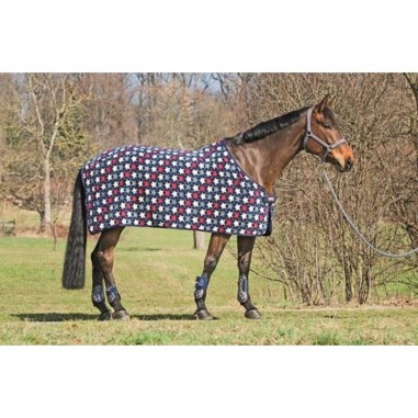 INDOOR BREATHABLE FLEECE -STARS ALLOVER-